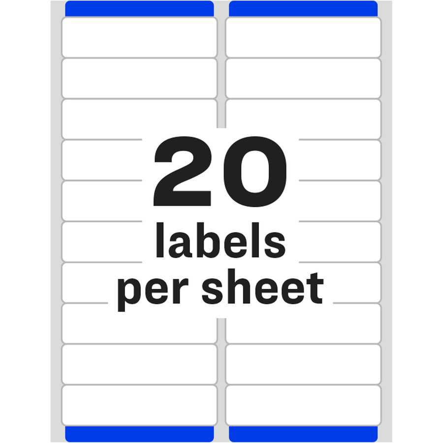 Avery easy peel mailing label ave8461 supplygeekscom for Avery square labels template