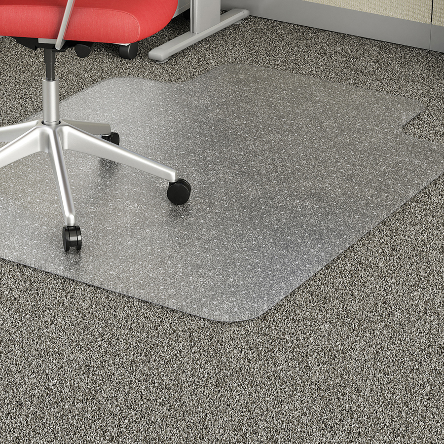 Lorell Low Pile Wide Lip Economy Chairmat Servmart - Wide width vinyl flooring
