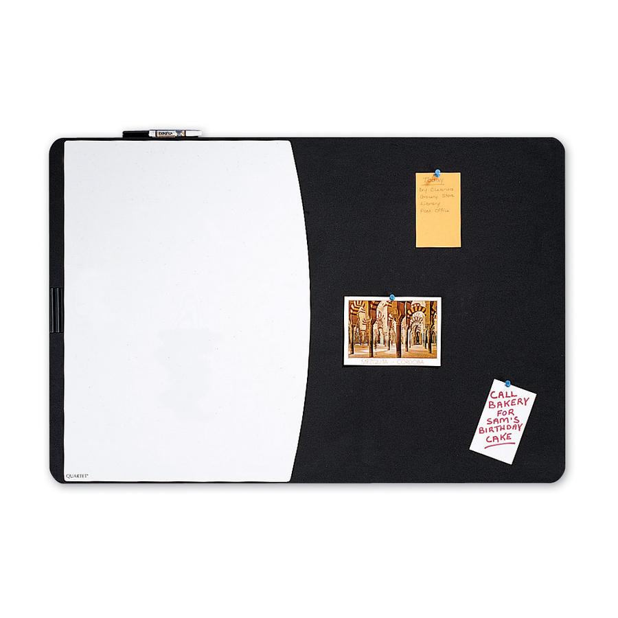 Quartet® Designer™ Tack & Write® Cubicle Combination Board | COS ...