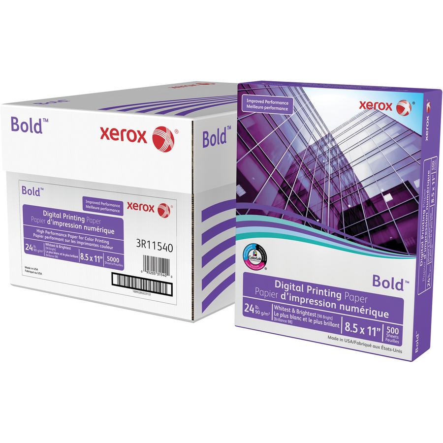 Color printing paper - Xerox Bold Digital Printing Paper Xer3r11540 Original