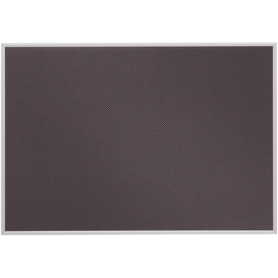 Acco Brands Corporation Quartet Matrix® Gray Bulletin Board, 23 X 16, Fabric, Aluminum Frame - 16 Height X 23 Width - Gray Woven Fabric Surface - Aluminum Frame - 1 / Each
