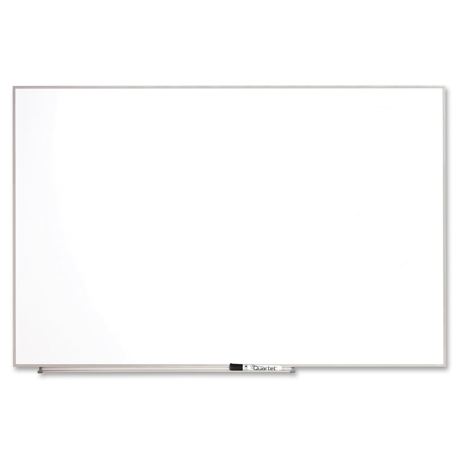 Acco Brands Corporation Quartet Matrix® Magnetic Modular Whiteboards, 48 X 31, Silver Aluminum Frame - 31 Height X 48 Width - White Natural Cork Surface - Silver Aluminum Frame - 1 Each