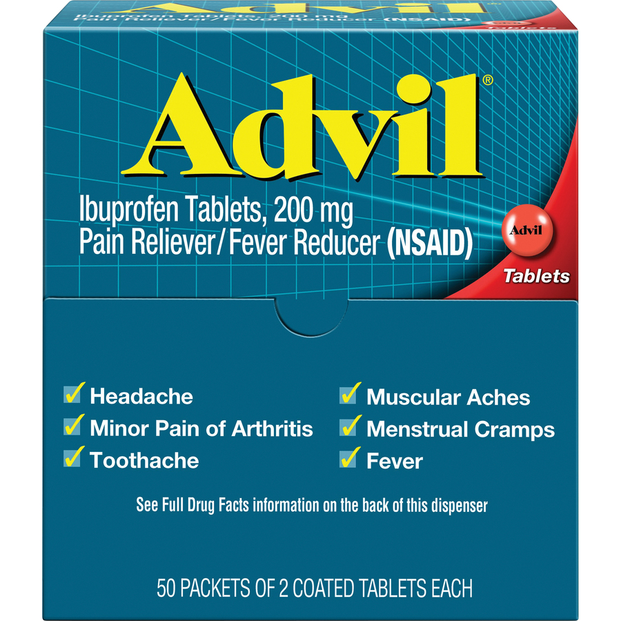 Advil Pain Reliever Single Packets - Your Office Connection
