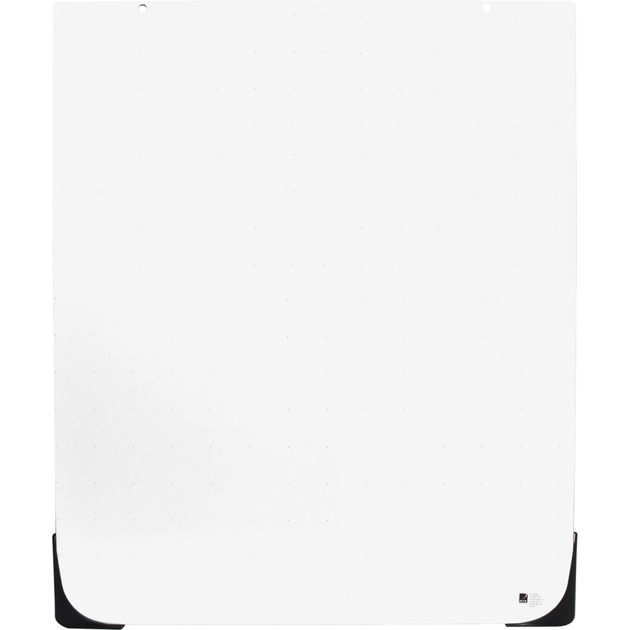 Acco Brands Corporation Quartet® Duramax® Total Erase®whiteboard Accessory, For Easels, 27 X 34 - 27 (2.2 Ft) Width X 34 (2.8 Ft) Height - White Plastic Surface - 1 Each