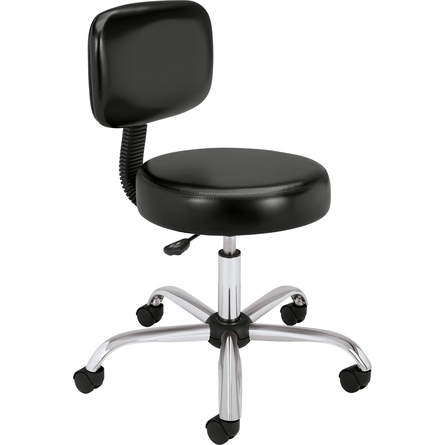 Hon Medical Stool With Back Urban Office Products
