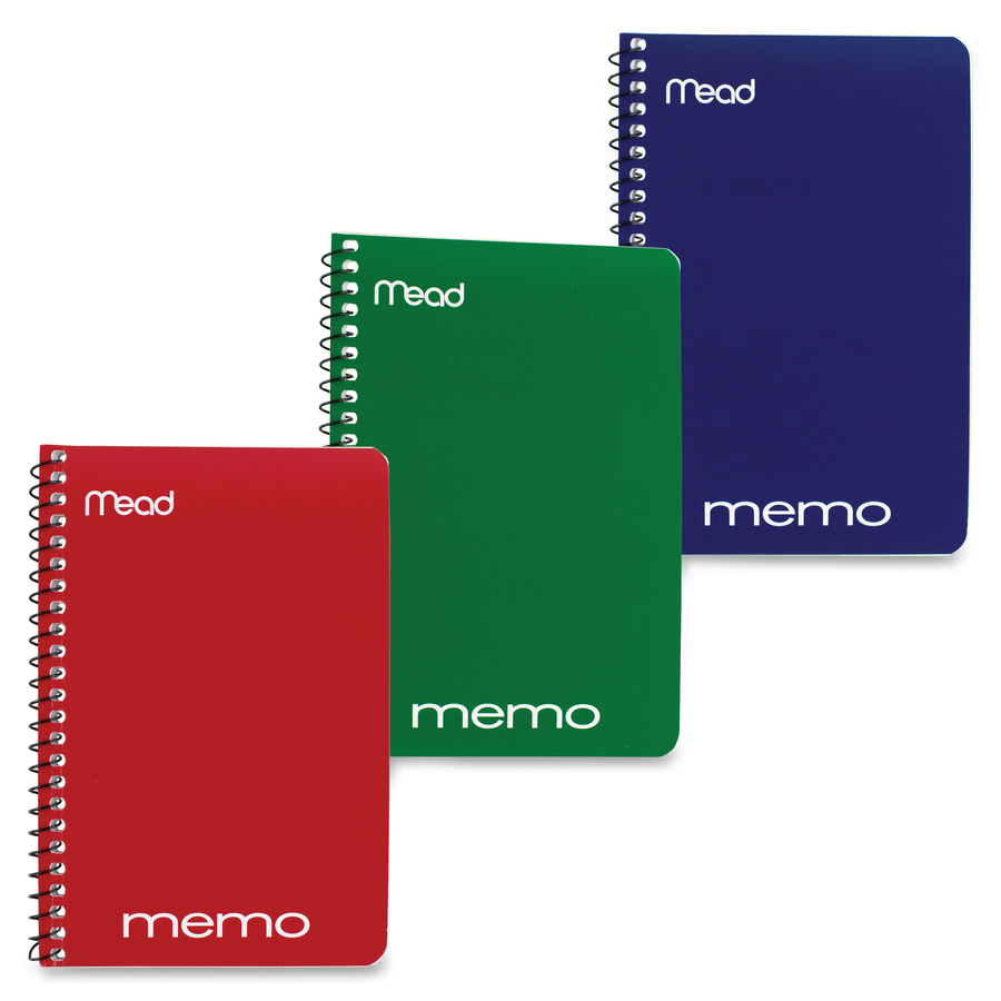 Wire Bound | Mead Wirebound Memo Notebook Office Supply King