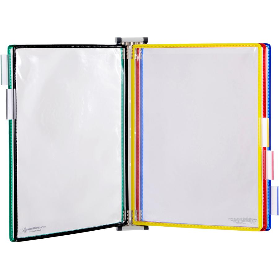 Tarifold 5-Pocket Wall Unit Display Starter Set - Mac Papers Inc