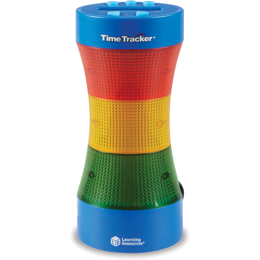 Learning Resources Time Tracker Visual Timer & Clock - Theme/subject: Learning - Skill Learning: Auditory