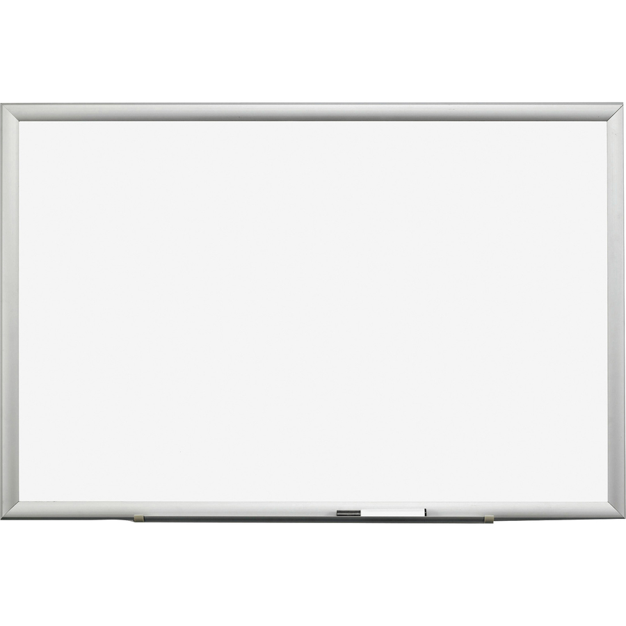 3M Premium Porcelain Marker Boards - 48 (4 Ft) Width X 36 (3 Ft) Height - White Porcelain Surface - Aluminum Frame - Rectangle - 1 Each