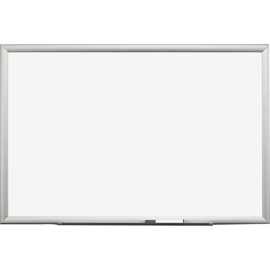 3M Premium Porcelain Marker Boards - 48 (4 Ft) Width X 36 (3 Ft) Height - White Porcelain Surface - Aluminum Frame - Rectangle - 1 Each