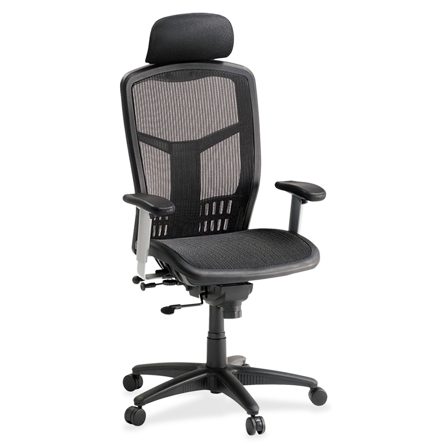 Ergonomically Designed Lorell 60324 Lorell High Back Mesh Chair