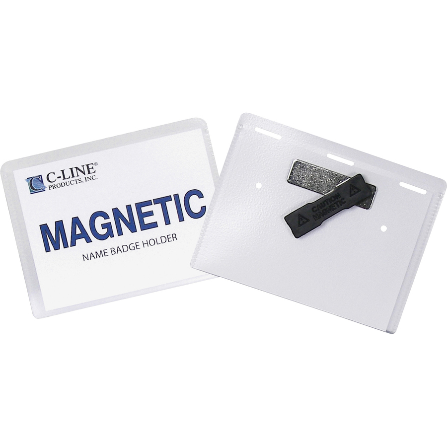 c inkjet magnetic name badge holder kit
