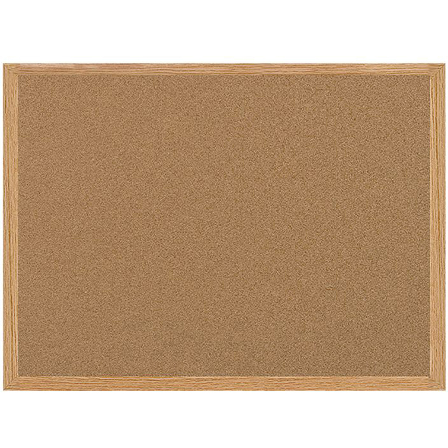 Bi-silque S.a Mastervision Recycled Cork Bulletin Boards - 24 Height X 36 Width - Cork Surface - Self-healing - Wood Frame - 1 / Each