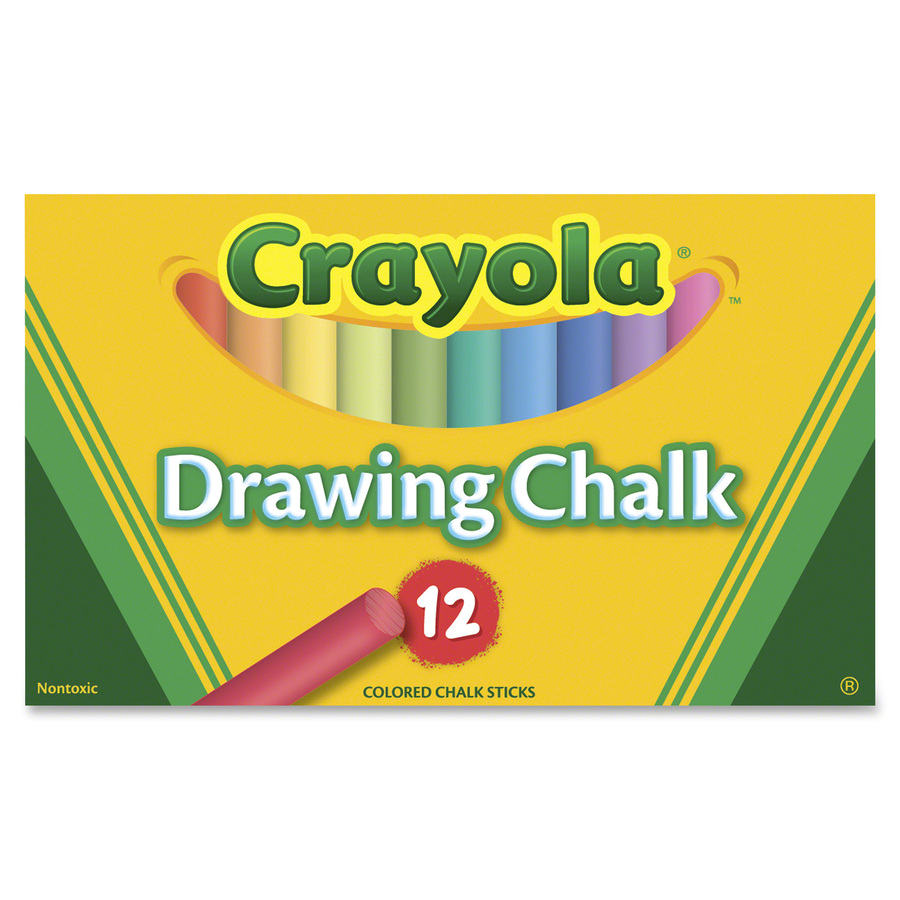 Crayola Colored Drawing Chalk - Mac Papers Inc