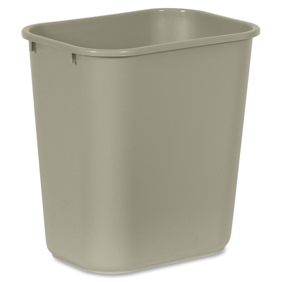 Rubbermaid Standard Series Wastebaskets 7.03 gal Capacity