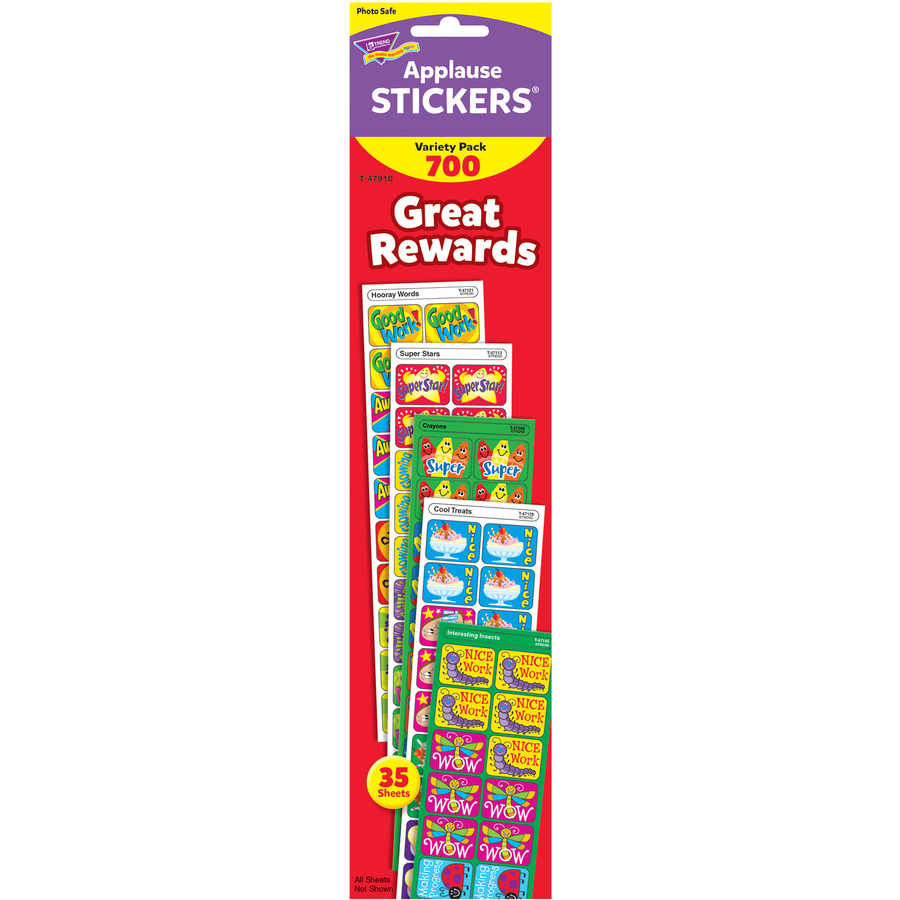 TEPT47910 - Trend Great Rewards Applause Stickers Variety ...