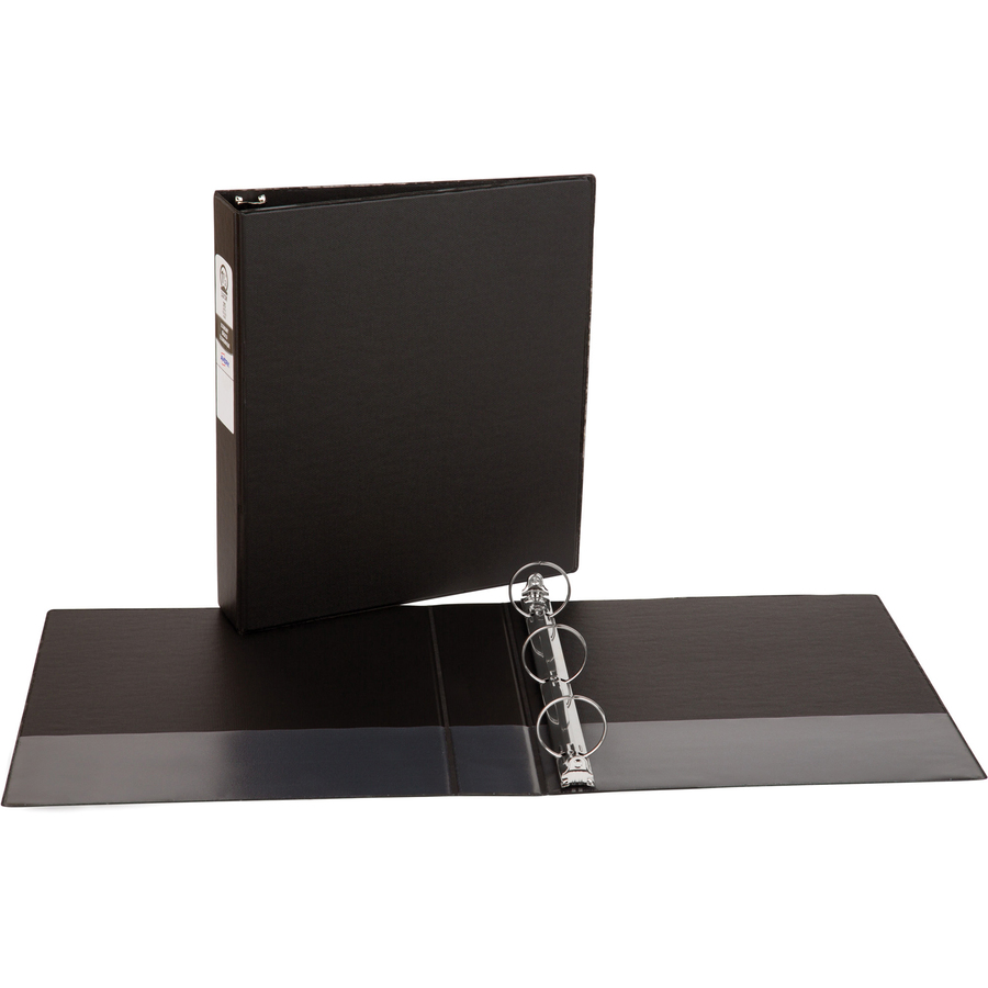 avery economy binders with round rings degroot technology