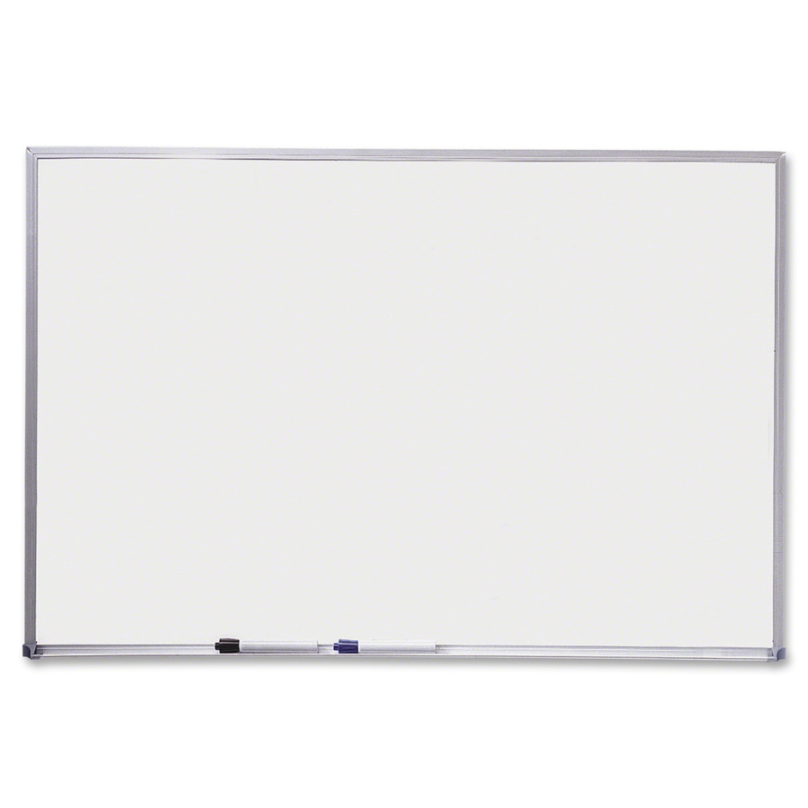 Acco Brands Corporation Quartet Dry-erase Board - 36 (3 Ft) Width X 24 (2 Ft) Height - Melamine Surface - Aluminum Aluminum Frame - Rectangle - Wall Mount - 1 Each