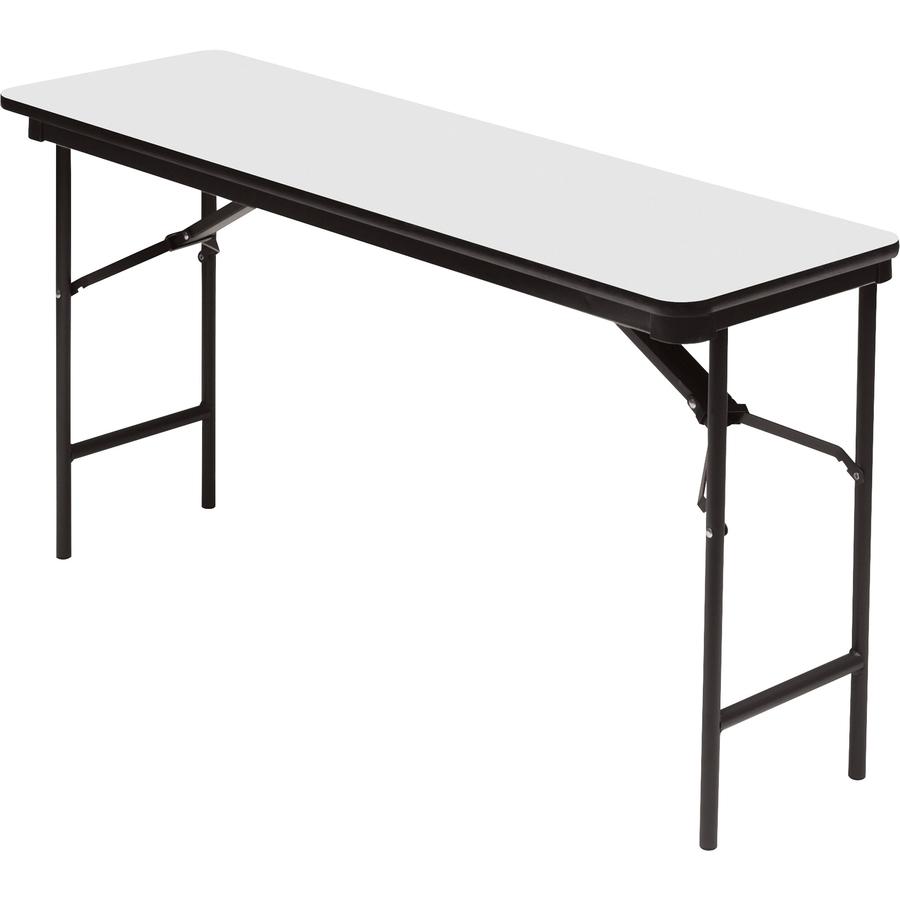 Iceberg Premium Wood Laminate Folding Table Servmart