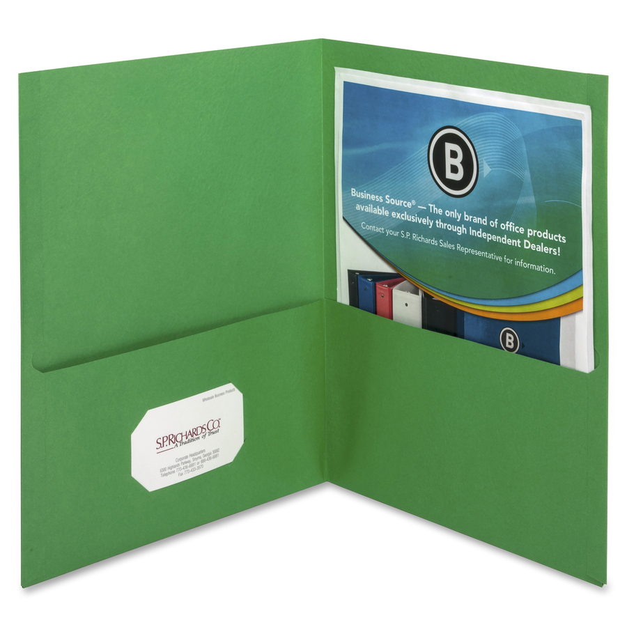 Pocket And Presentation Folders