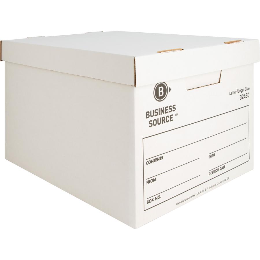 Original  sc 1 th 225 & Business Source Quick Setup Medium-Duty Storage Box - Servmart