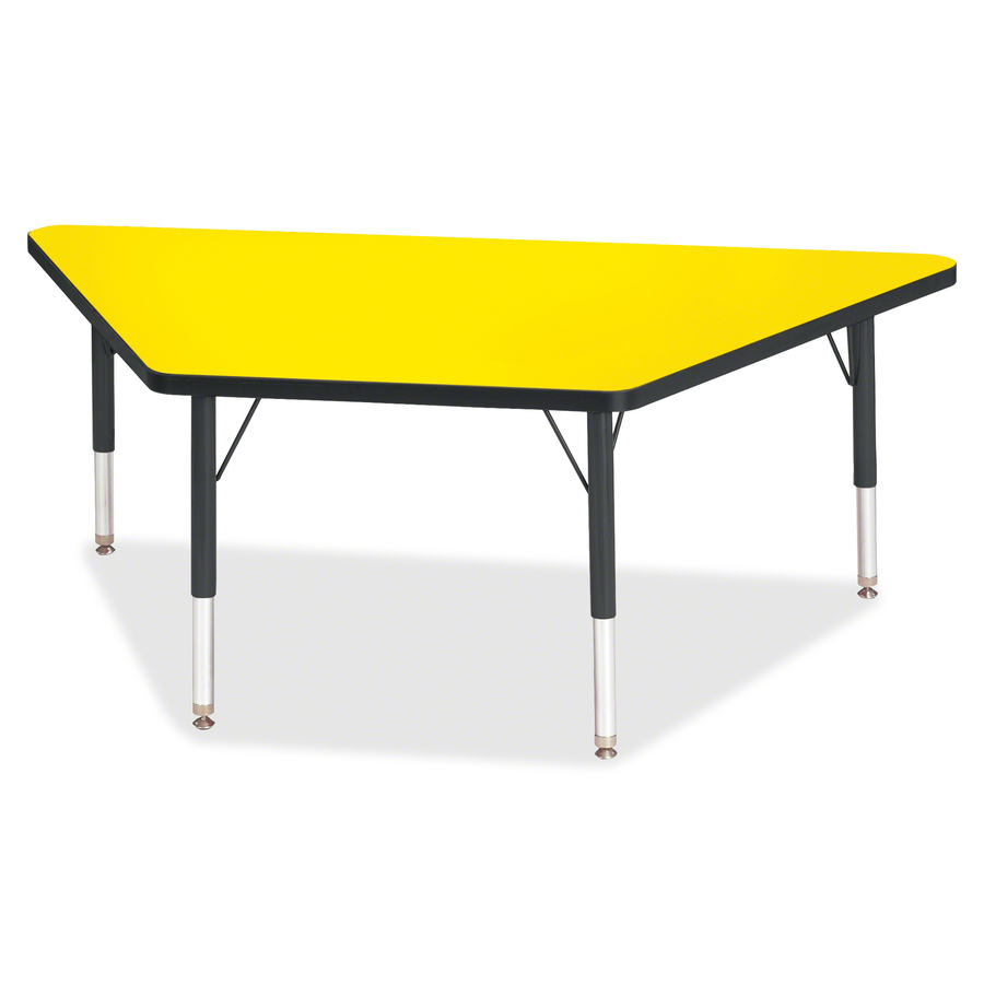 Berries toddler sz classic clr trapezoid table for Trapazoid table
