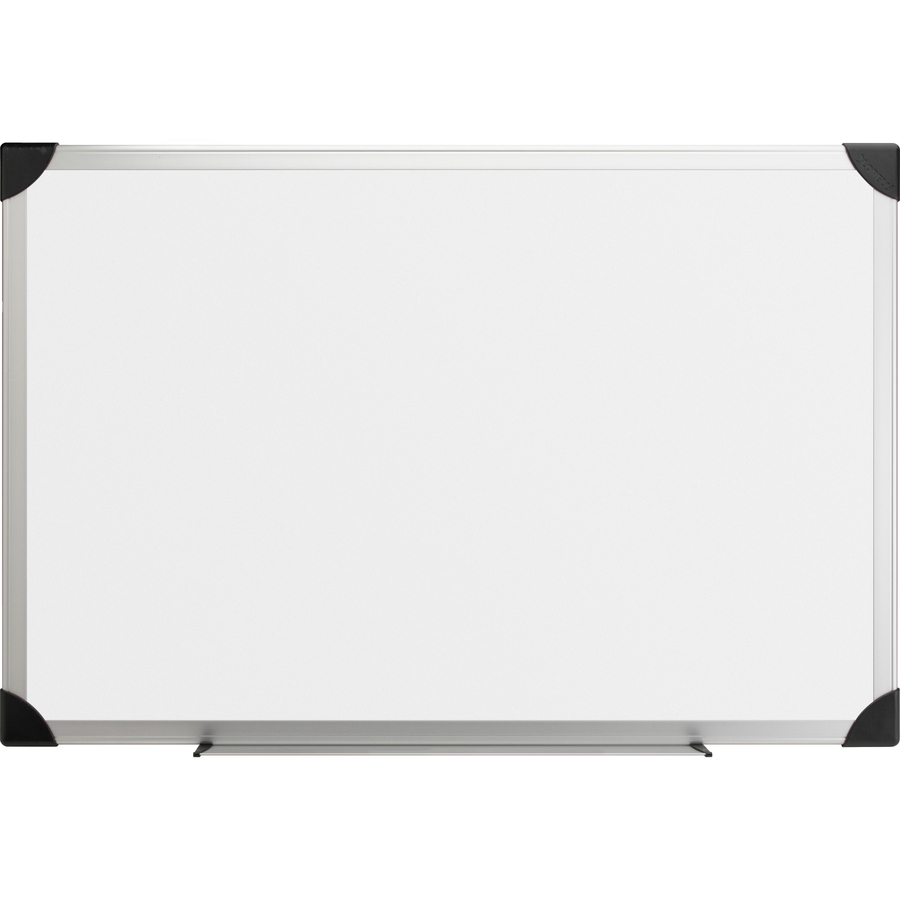Lorell Aluminum Frame Dry-erase Boards - 96 (8 Ft) Width X 48 (4 Ft) Height - White Styrene Surface - Aluminum Frame - 1 Each
