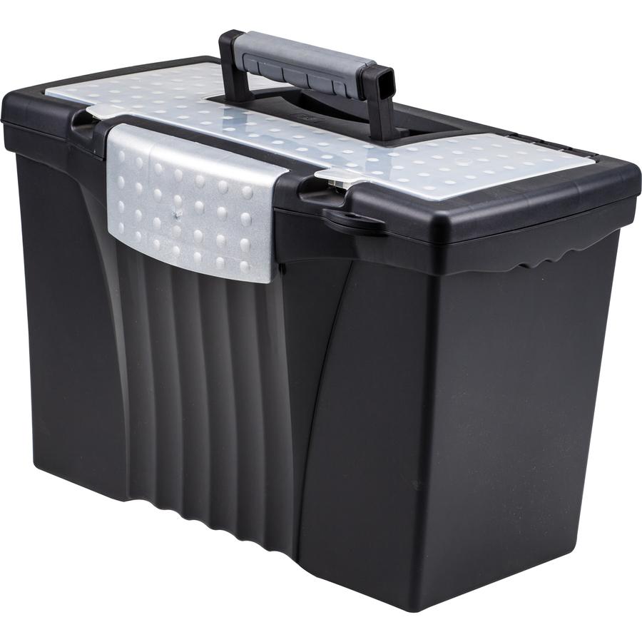 Product Portable Storage : Stx u c storex portable file storage box with out