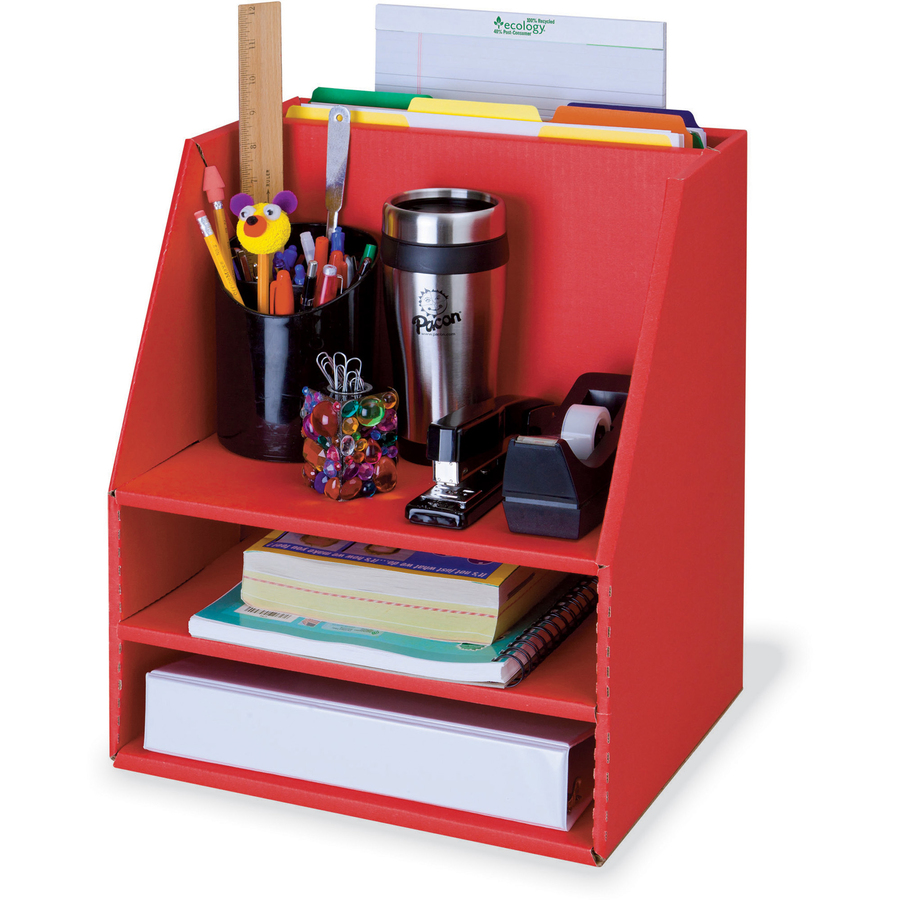 Pacon Desk Organizer  Pac001319  Supplygeeksm. Cb2 Helix Desk. Drawing Lap Desk. Black Coffee Table With Drawers. Amazon Desk Chair. Homeschool Desk. Table Rentals Miami. Black Leather Desk Chair. Tool Box Desk