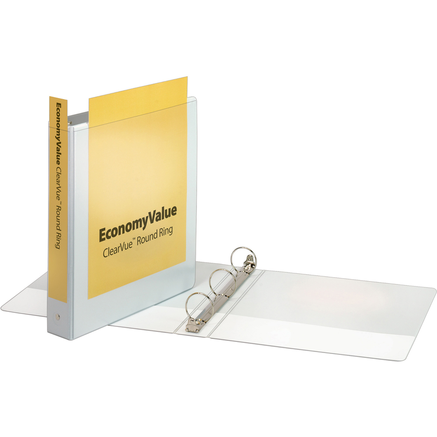 Cardinal Economyvalue Clearvue Round Ring Binder