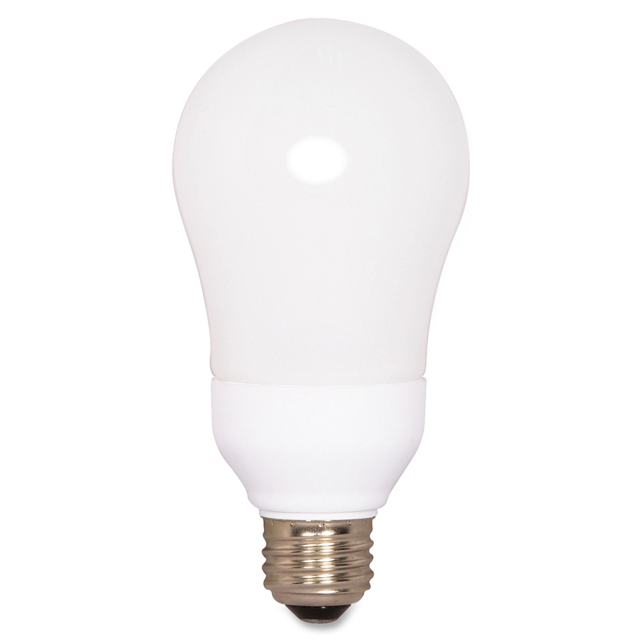 s7291 satco cfl a19 size 15 watt bulb compact fluorescent light bulb. Black Bedroom Furniture Sets. Home Design Ideas