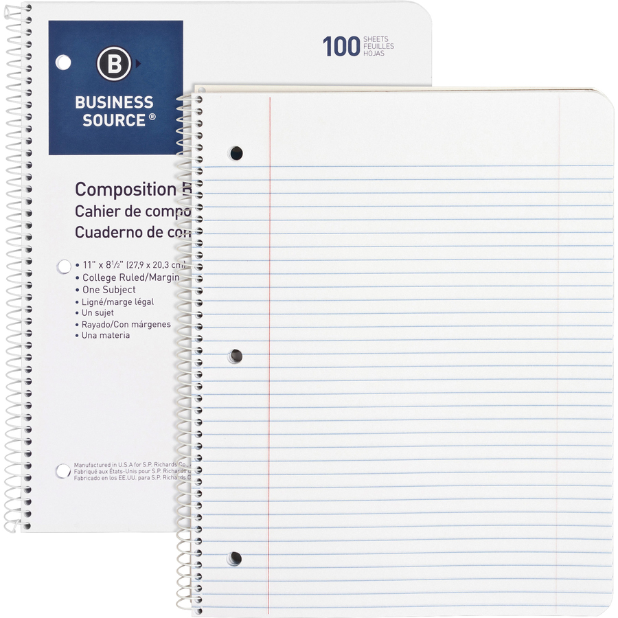 best business paper notebooks Limited business notebook top bound, 06090 by cambridge  i am left handed  and your top bound spiral allows me full use of the paper and avoids my hand.