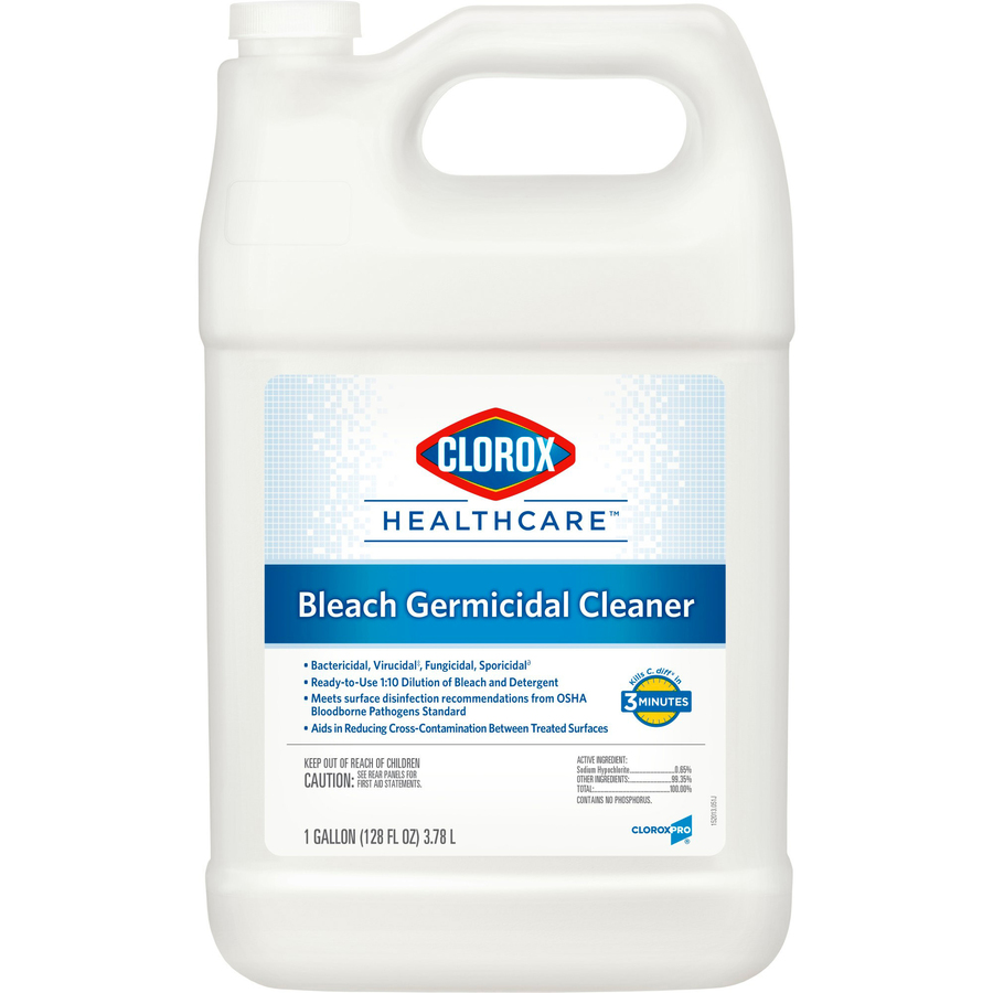 CLO68978 Clorox Healthcare Bleach Germicidal Cleaner Office Supply  #C58906