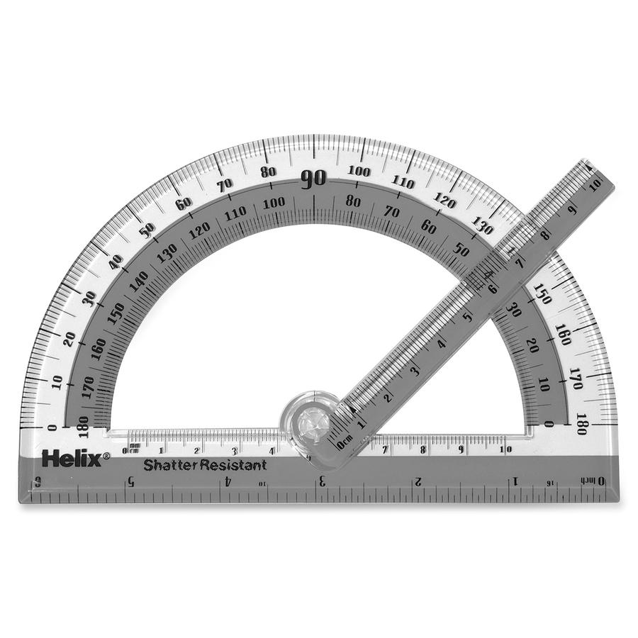 Helix Group Plc Helix Swing Armband Protractor - Plastic - Assorted