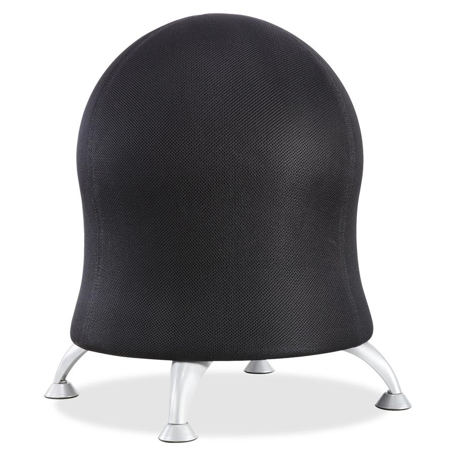 safco zenergy ball chair saf4750bl. Black Bedroom Furniture Sets. Home Design Ideas