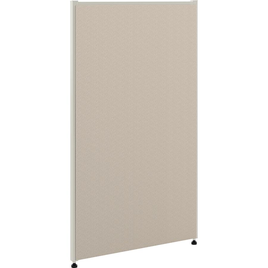 The Hon Company Hon Verse Panel, 24W X 42H - 24 Width X 42 Height - Steel Frame - Gray
