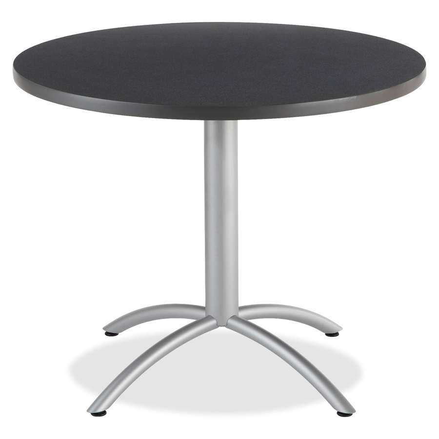 Iceberg CafeWorks Round Cafe Table Office Solution - 36 inch round conference table