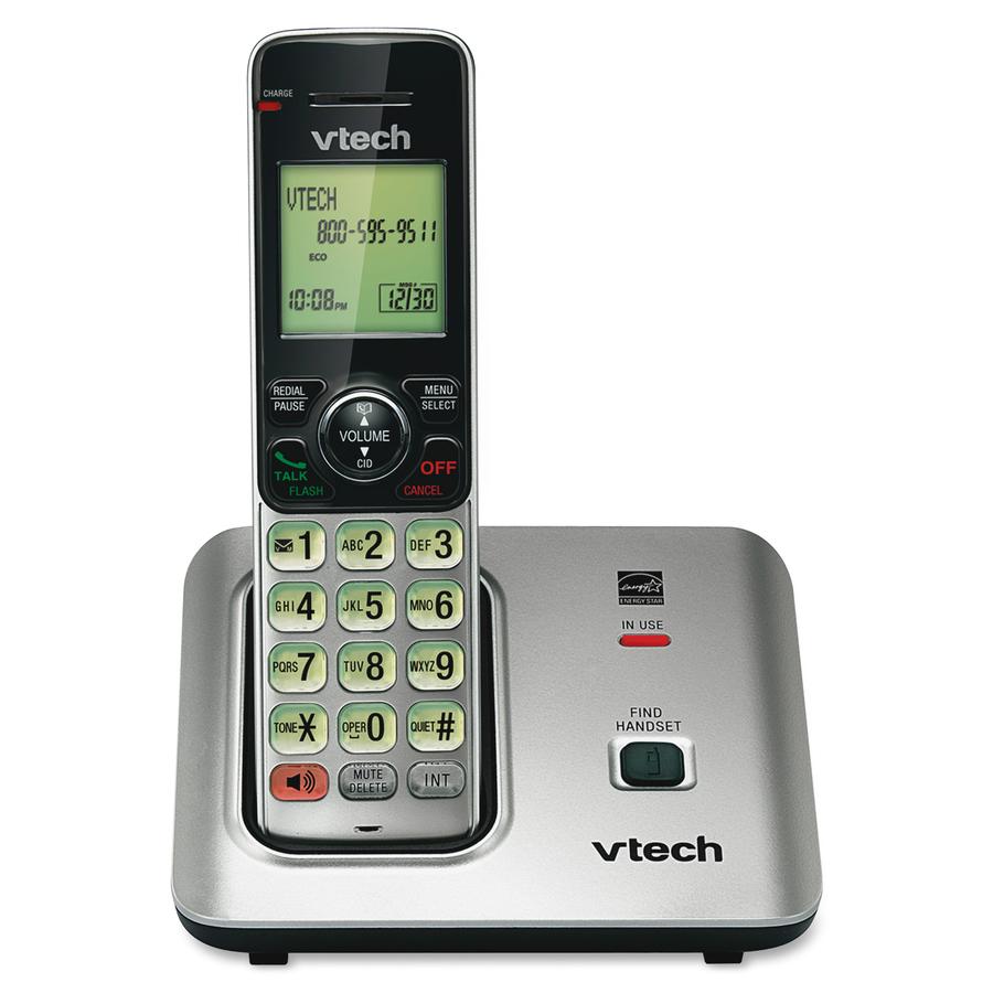 tel fono inal mbrico vtech cs6619 1 90 ghz dect 6 0 reparto rh tienda reparto com telefono vtech dect 6.0 manual español cs6124 VTech Cordless Phone DECT 6 0 User Manual