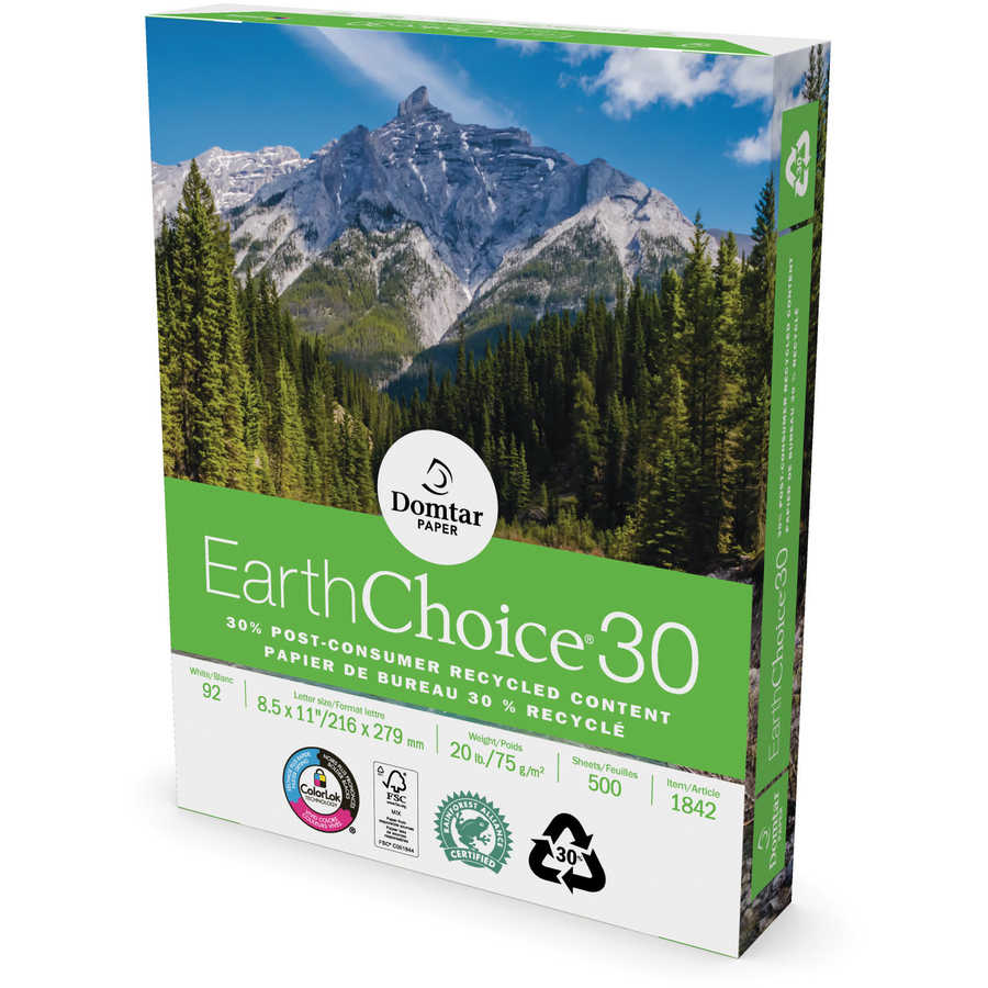 domtar paper The paper trail overview z-fold wallet size edition select to order : earthchoice ® responsibility.