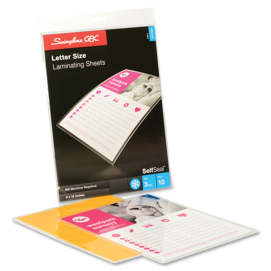 laminating sheets without machine