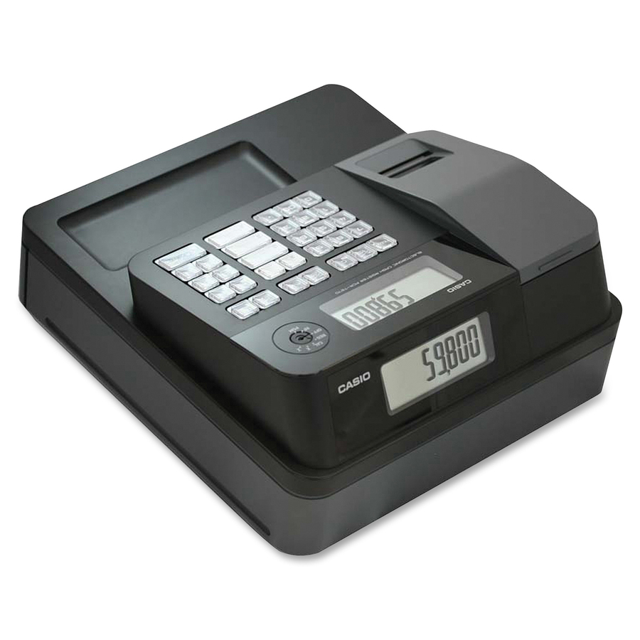 Image for Casio Computer Co., Ltd Casio Entry Level Thermal Cash Register - 999 Plus - 8 Clerks - 24 Departments - Thermal Printing