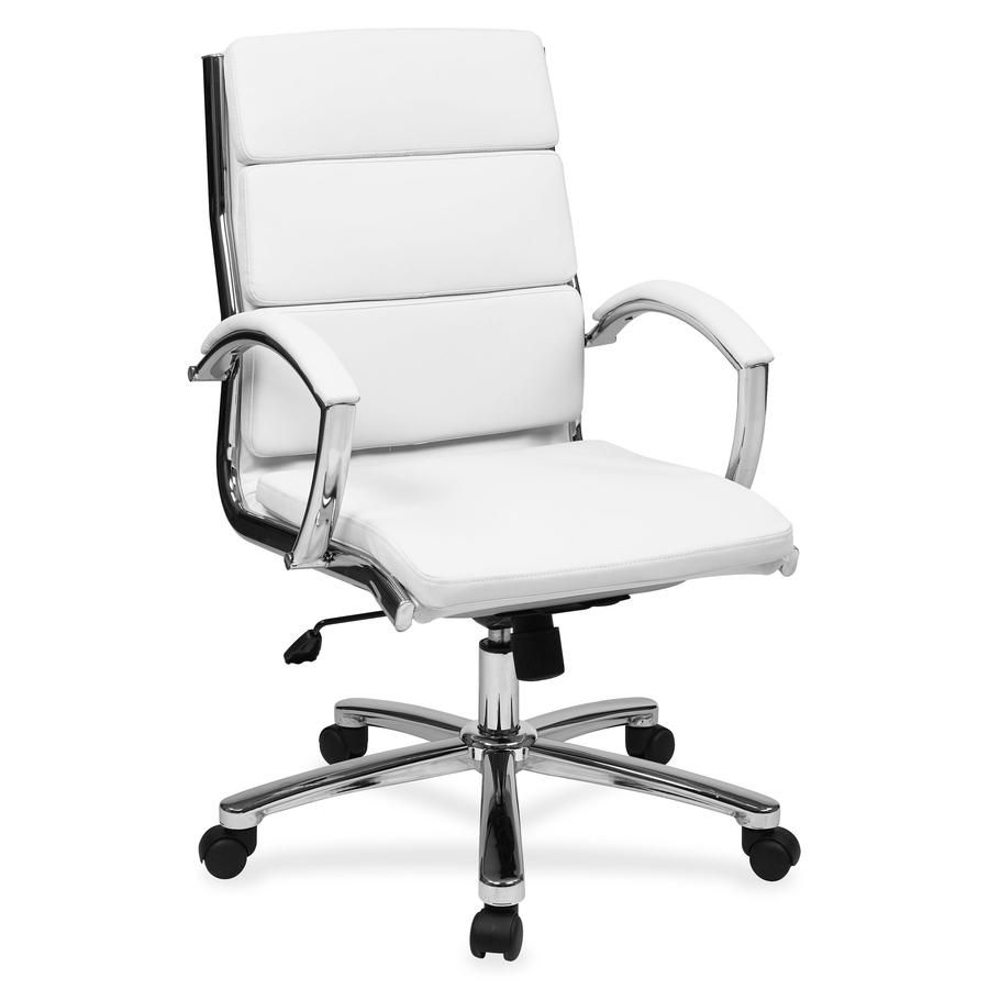 office chair genuine leather white. Original Swatch Office Chair Genuine Leather White