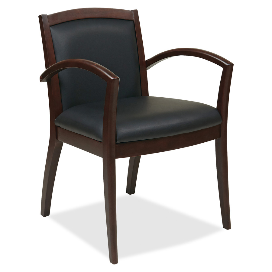osp furniture nap97esp napa espresso guest chair with full