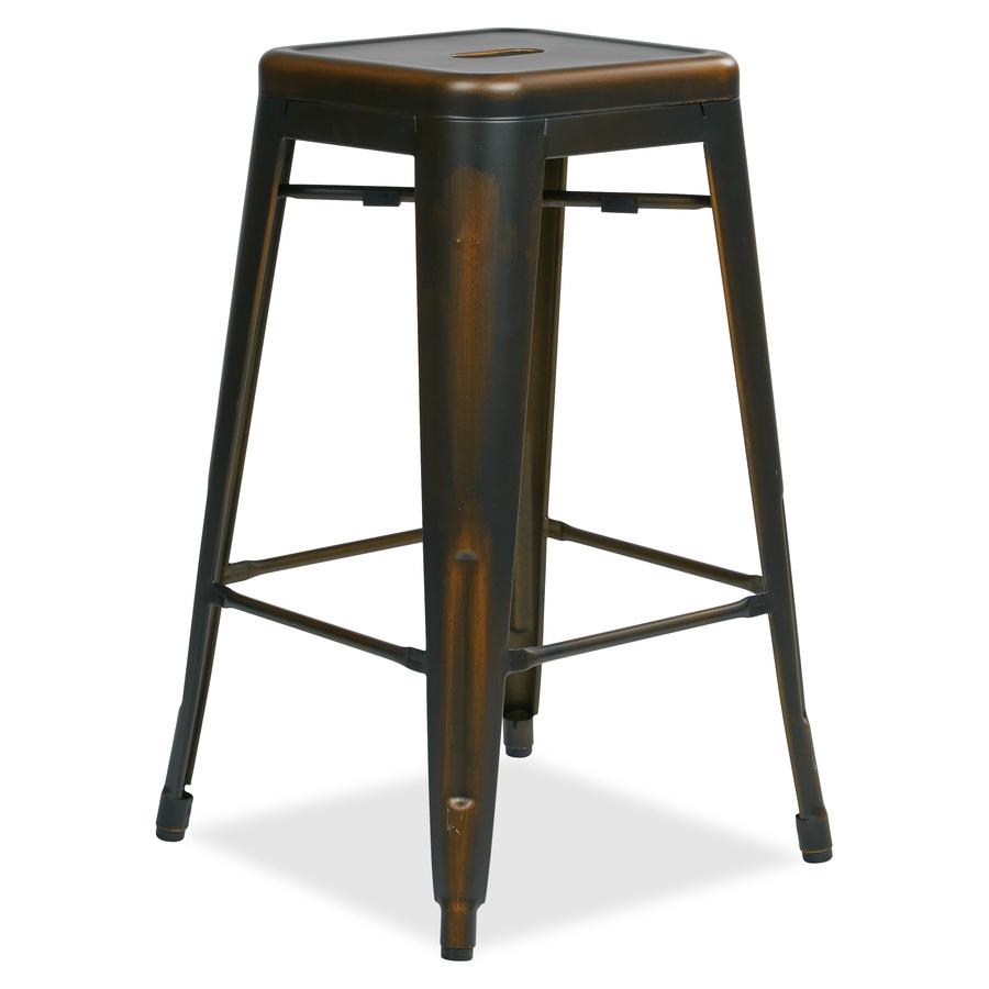 Osp Designs Bristow Antique Metal Barstool