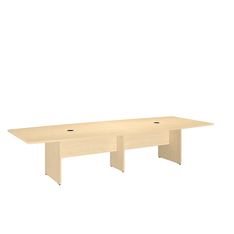 Bsh99tb12048ack bush business furniture 120l x 48w boat for 120 conference table
