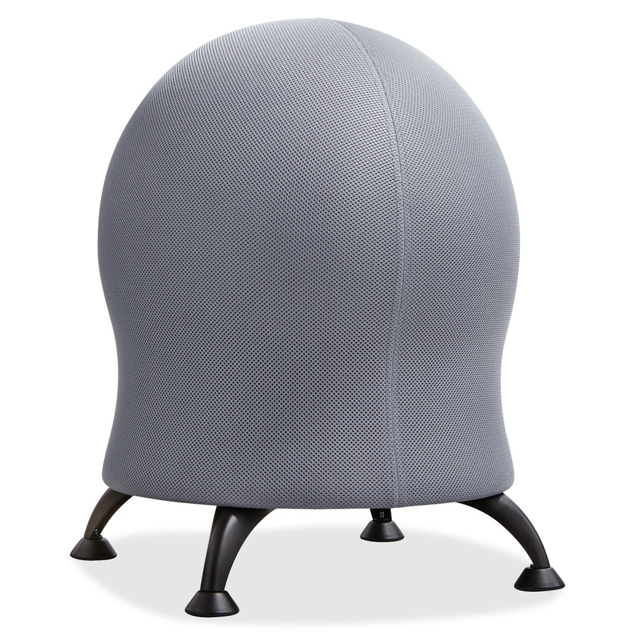 Mesh Cover Exercise Ball Chair SAF4750GR Blue Cow Office Products