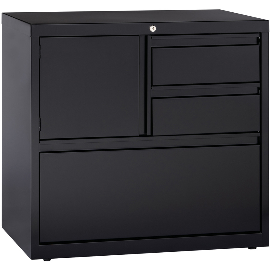 60933 Lorell 30 Personal Storage Center Lateral File Storage Cabinet