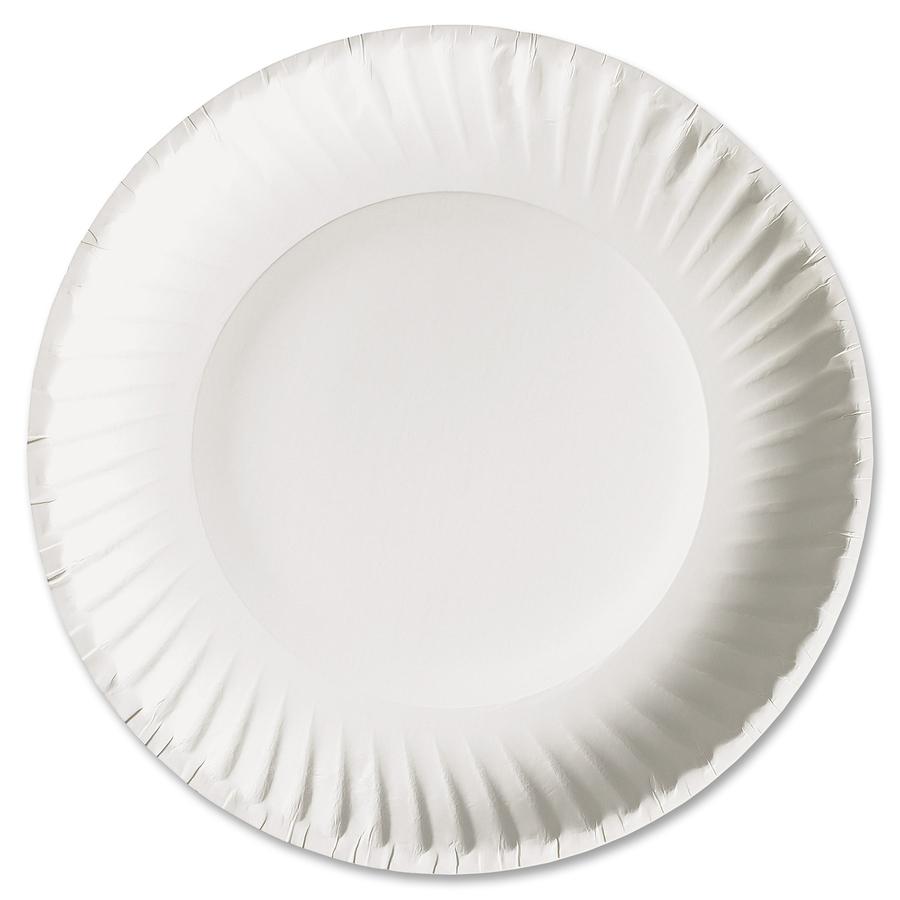 Vajilla ajm plato blanco reparto for Plato blanco