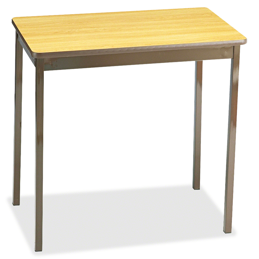 Counter Height Utility Table : Utility Table Rectangle Top - Square Leg Base - 4 Legs - 30