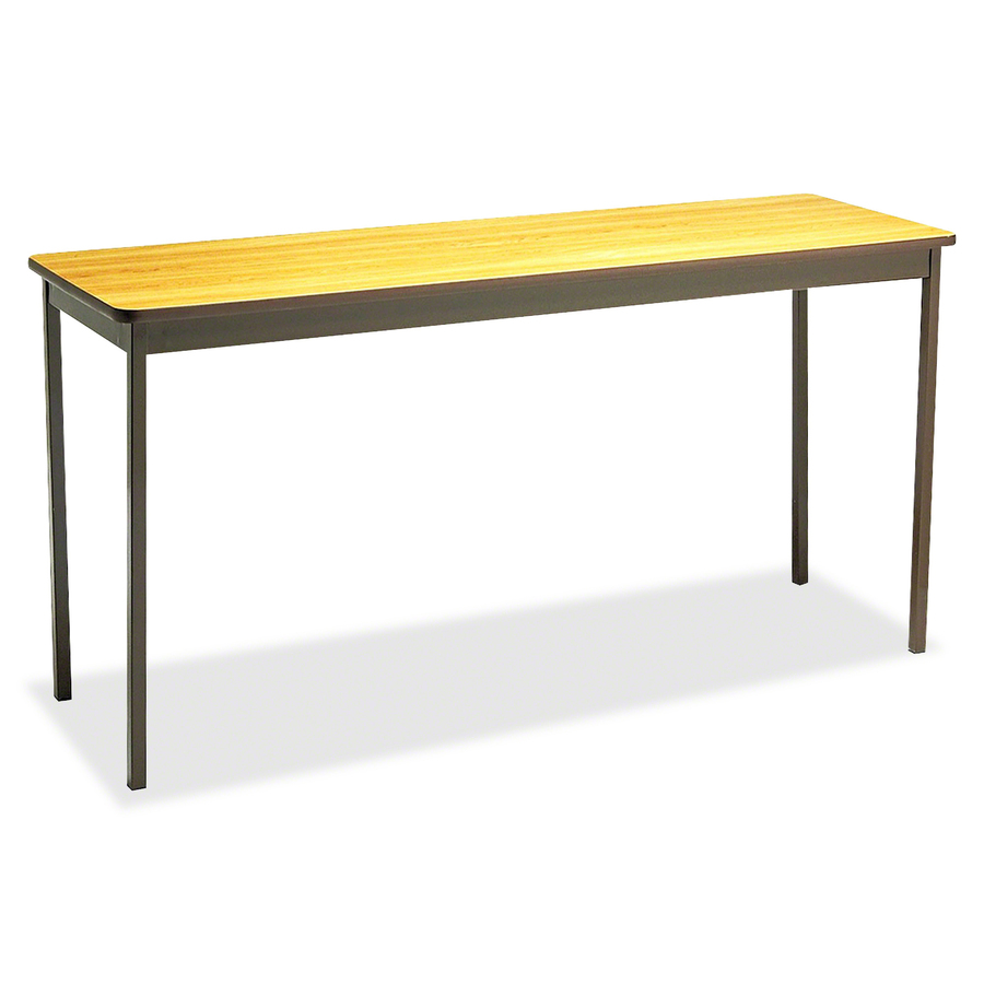Counter Height Utility Table : Utility Table Rectangle Top - Square Leg Base - 4 Legs - 60